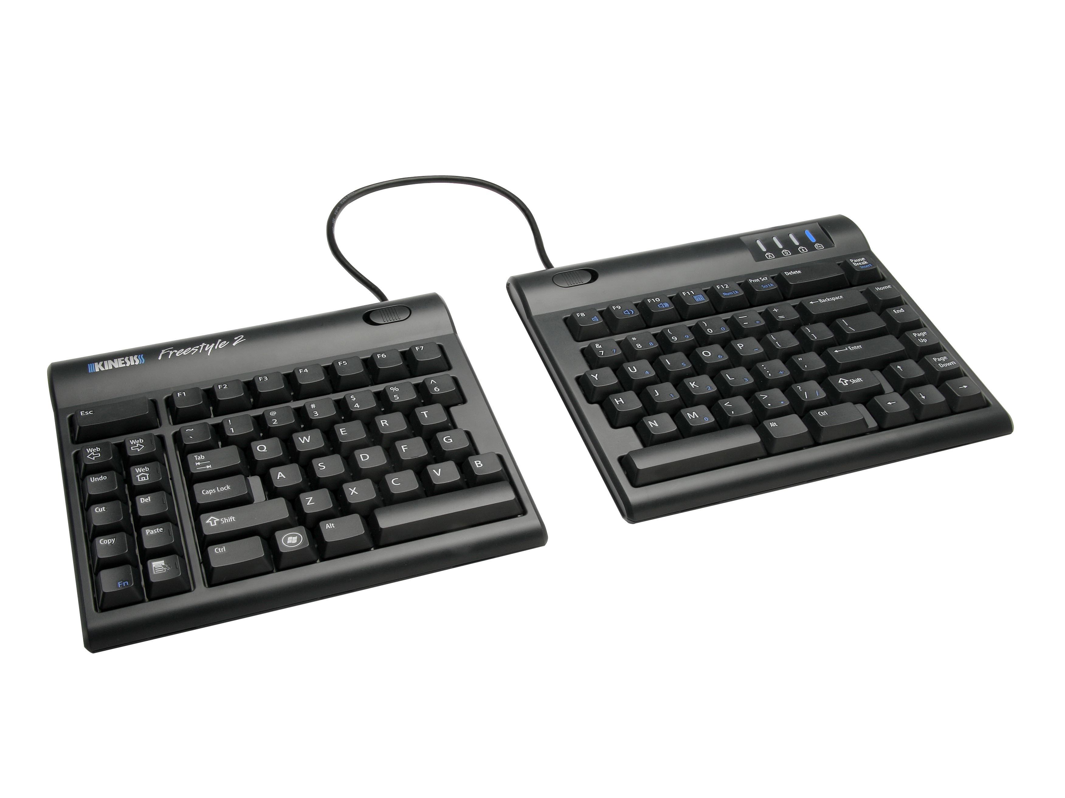 edb7a80a9e1 Freestyle2 Split-Adjustable Keyboard for PC | Kinesis